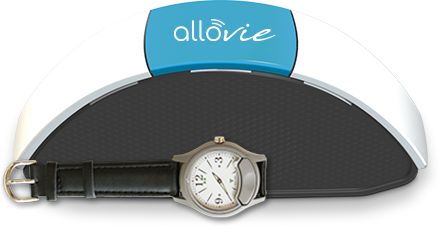 Allovie montre discrète