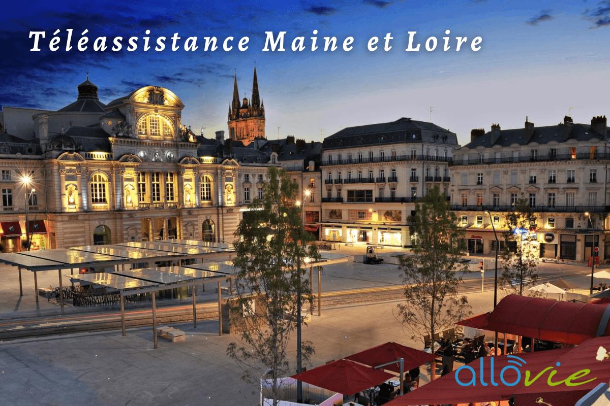 Téléassistance Maine et Loire