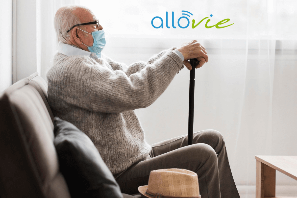 Personne âgée qui refuse la maison de retraite